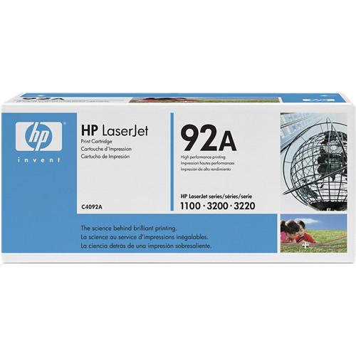 HP LaserJet 92A Black Toner Cartridge