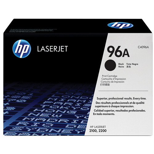 HP LaserJet 96A Black Toner Cartridge