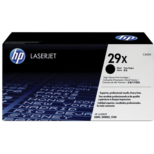 HP LaserJet 29X Black Toner Cartridge (Maximum Capacity)