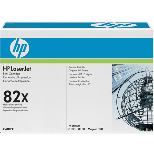 HP 82x LaserJet Black Print Cartridges (20,000 Pages Each)