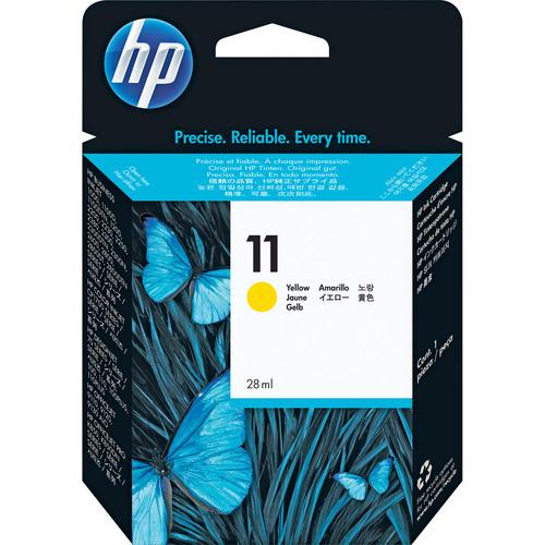 HP 11 Yellow Ink Cartridge