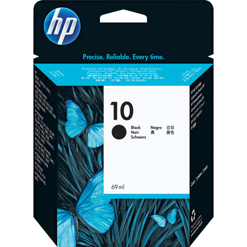 HP 10 Black Inkjet Cartridge