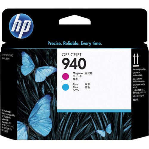 HP 940 Magenta & Cyan Officejet Printhead