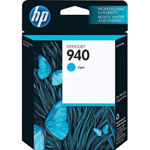 HP 940 Cyan Officejet Ink Cartridge