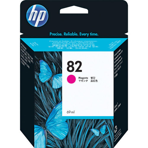 HP 82 Magenta Ink Cartridge (69ml) for the Hewlett-Packard DJ 500SP and 800SP Printers