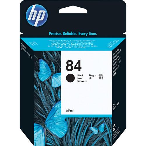 HP 84 Black Ink Cartridge (69 ml)