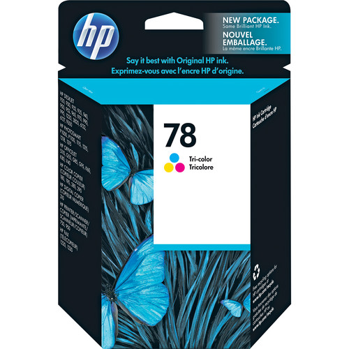 HP 78 Tri-Color Inkjet Print Cartridge