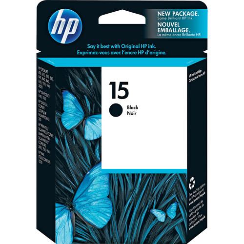 HP 15 Black Inkjet Print Cartridge