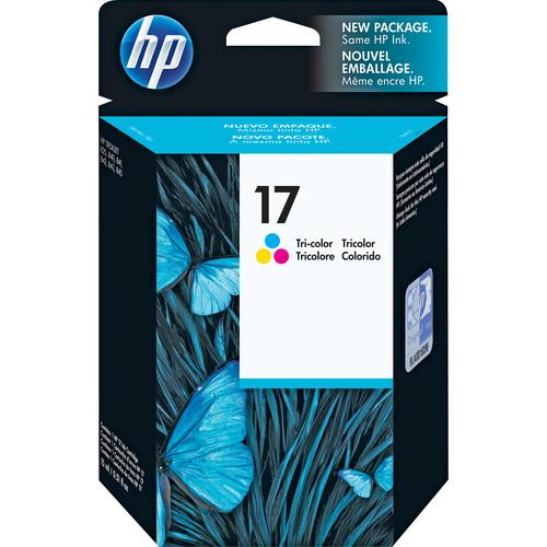 HP 17 Tri-Color Inkjet Print Cartridge for Deskjet 840c & 842c Printers