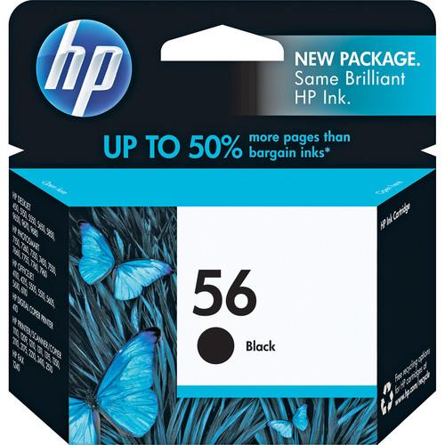 HP HP 56 Black Inkjet Print Cartridge (19ml)