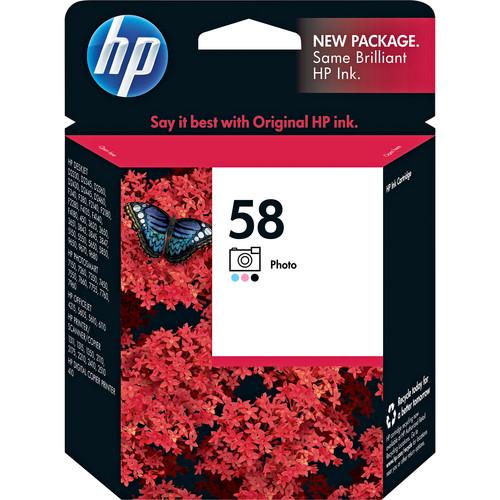 HP HP 58 Photo Inkjet Print Cartridge (17ml)