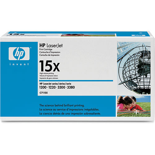 HP 15X Toner Cartridge (Black)