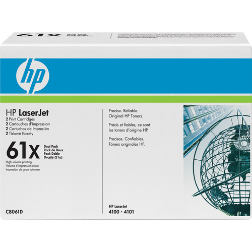 HP LaserJet 61X Print Cartridge (Dual Pack)
