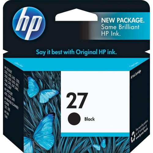 HP HP 27 Black Inkjet Print Cartridge (10 ml)