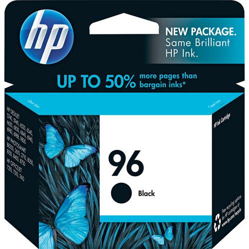 HP HP 96 Black Inkjet Print Cartridge (High Capacity-21ml)
