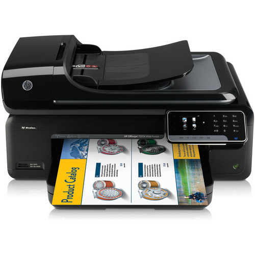 HP Officejet 7500A Wide Format Wireless Color e-All-In-One Inkjet Printer