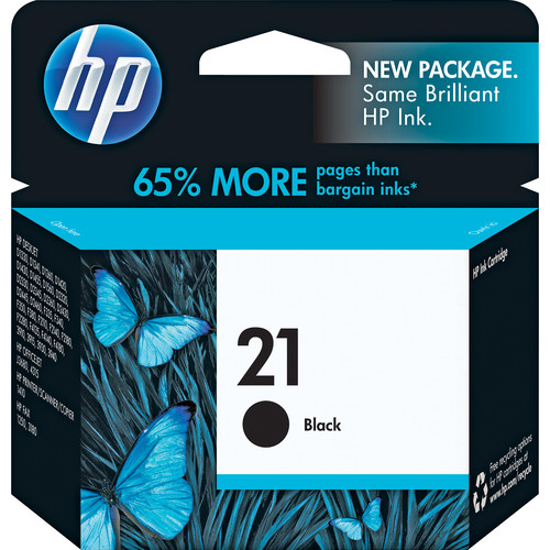 HP 21 Black Inkjet Print Cartridge (5ml) for PSC 1410 All-in-One Printer