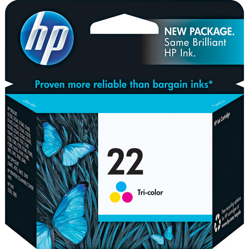 HP HP 22 Tri-color Inkjet Print Cartridge (5ml)