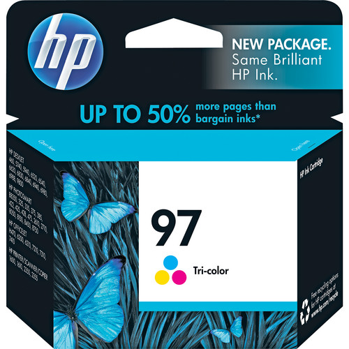 HP 97 Tri-Color Inkjet Print Cartridge