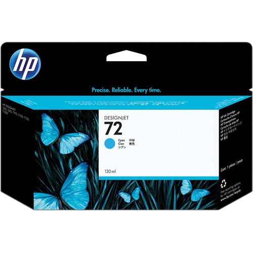 HP 72 Cyan Ink Cartridge (130 ml)