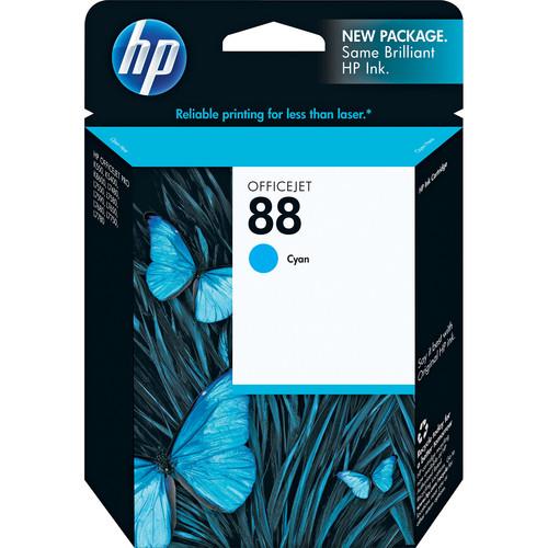 HP 88 Cyan Ink Cartridge for OfficeJet Pro K550 Printer