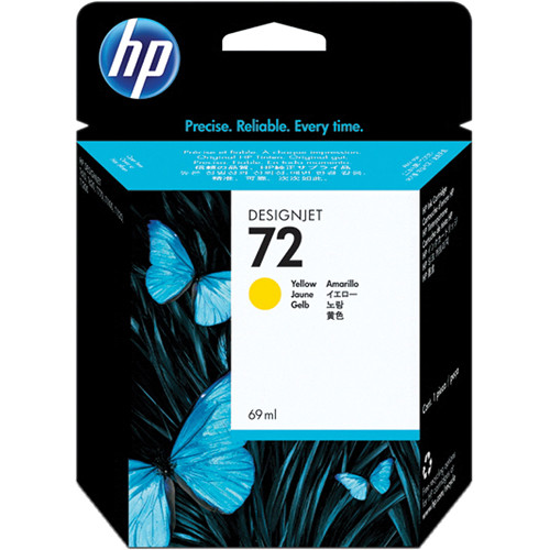 HP HP 72 Yellow Ink Cartridge (69 ml)