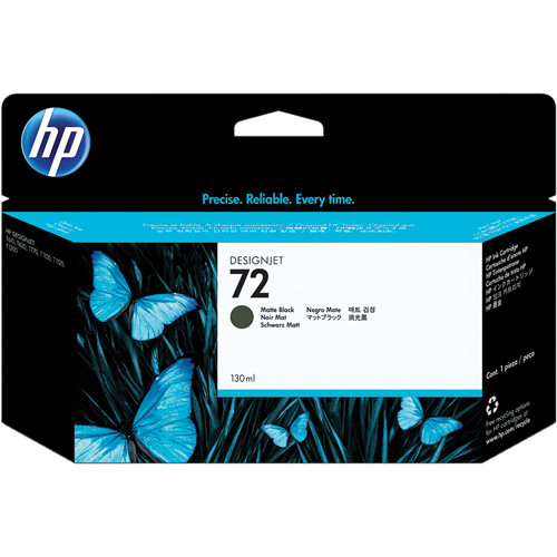 HP 72 Matte Black Ink Cartridge (130 ml)