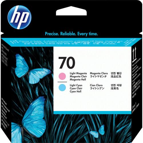HP 70 Light Magenta & Light Cyan Printhead