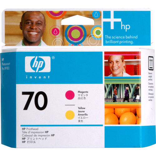 HP 70 Magenta & Yellow Printhead