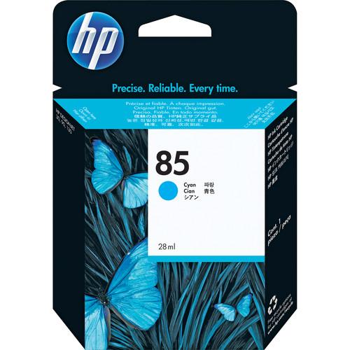 HP 85 Cyan Ink Cartridge (28 mL)