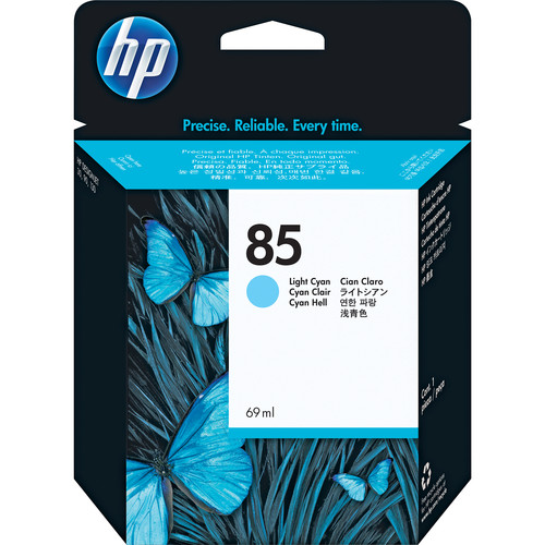 HP 85 Light Cyan Ink Cartridge (69 mL)