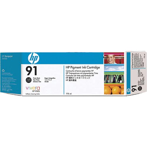 HP 91 775-ml Pigment Photo Black Ink Cartridge (3 Pack)