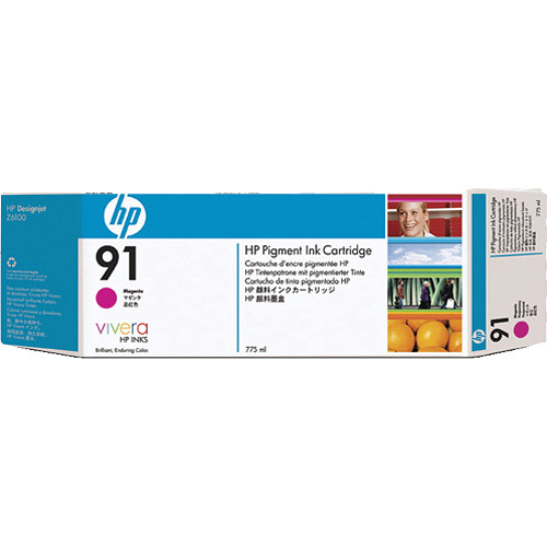 HP HP 91 775-ml Pigment Magenta Ink Cartridge (3 Pack)
