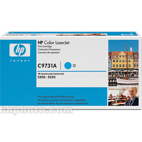 HP Cyan Toner Cartridge