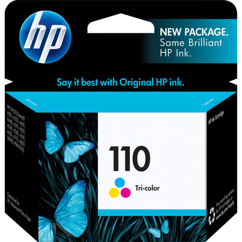 HP 110 Tri-color Inkjet Print Cartridge for Hewlett-Packard Photosmart A516, A616 & A716 Printers