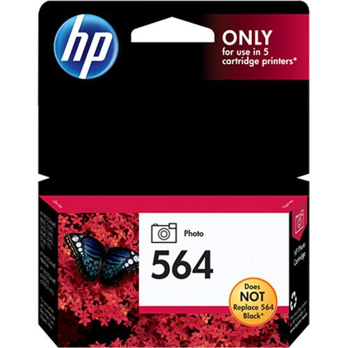 HP HP 564 Standard-Capacity Photo Black Ink Cartridge