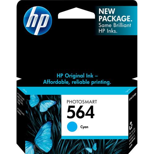 HP 564 Standard Cyan Ink Cartridge