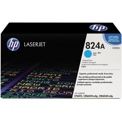 HP 824A Cyan Image Drum for HP Color LaserJet Toner