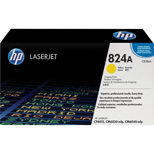 HP 824A Yellow Image Drum for HP Color LaserJet Toner