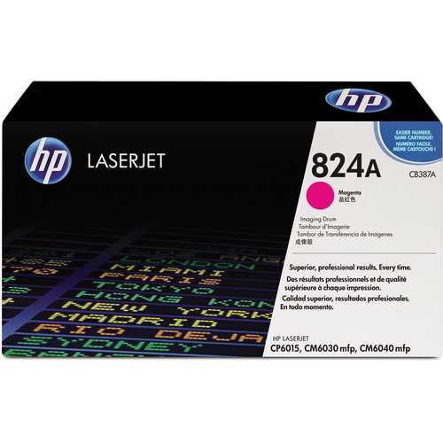 HP 824A Magenta Image Drum for HP Color LaserJet Toner