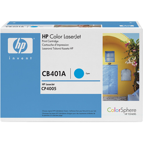 HP Color LaserJet Cyan Toner Cartridge