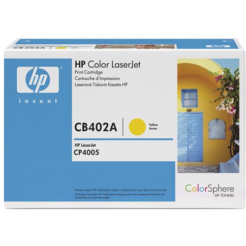 HP Color LaserJet Yellow Toner Cartridge