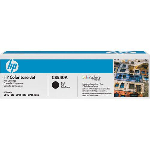 HP 125A CB540A Toner Cartridge (Black)