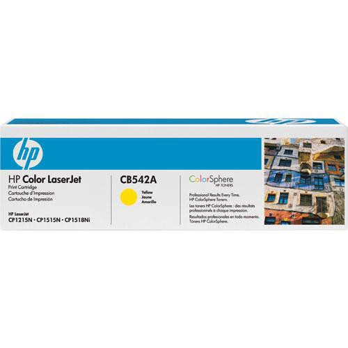 HP 125A CB542A Toner Cartridge (Yellow)