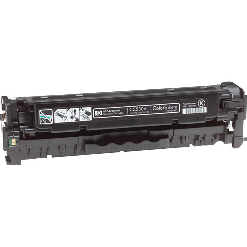 HP CC530A Color LaserJet Black Print Cartridge