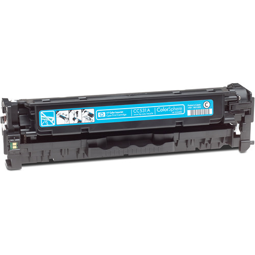 HP CC531A Color LaserJet Cyan Print Cartridge