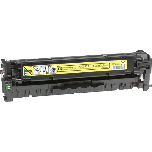 HP CC532A Color LaserJet Yellow Print Cartridge