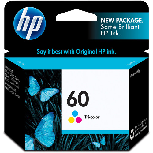 HP HP 60 Tri-Color Ink Cartridge