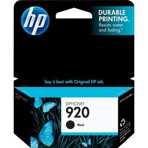 HP 920 Black Officejet Ink Cartridge