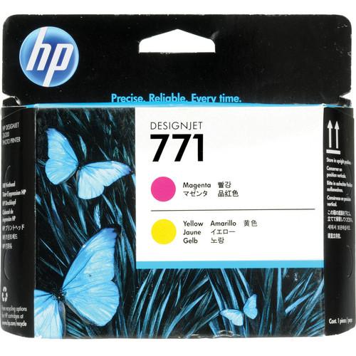 HP 771 Magenta & Yellow Designjet Printhead